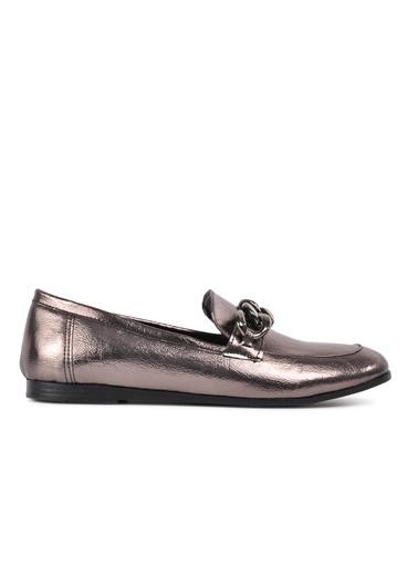 Park Fancy Park Fancy 92 Siyah Rugan Hafif Kadın Günlük Ayakkabı Gümüş